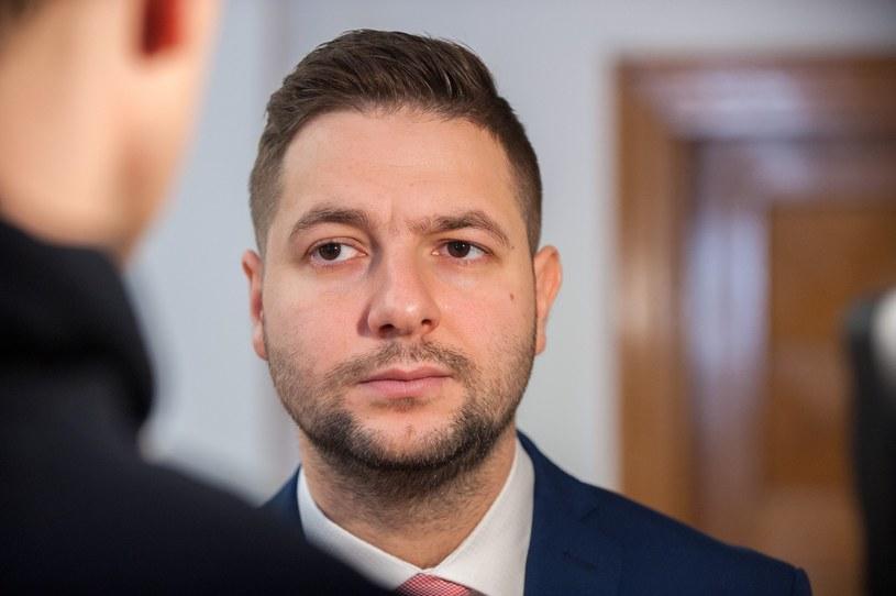 Patryk Jaki zachwala kurs /Grzegorz Krzyzewski /Reporter