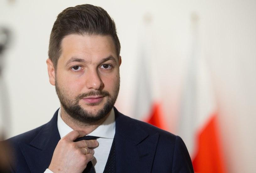 Patryk Jaki /Fot Tomasz Jastrzebowski /Reporter