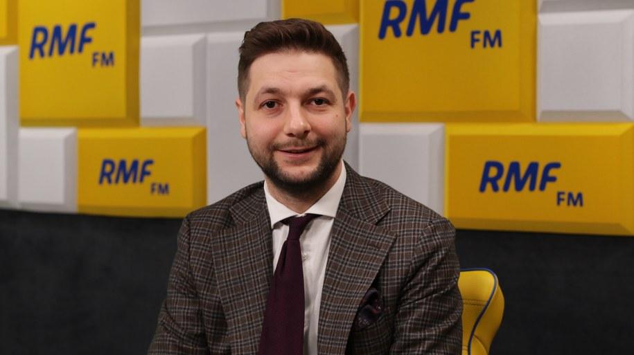 Patryk Jaki /Karolina Bereza /Archiwum RMF FM