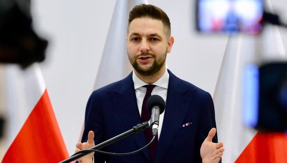 Patryk Jaki / Jakub Kamiński    /PAP
