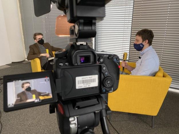 Patryk Michalski i Jakub Caban /Karolina Bereza /RMF FM