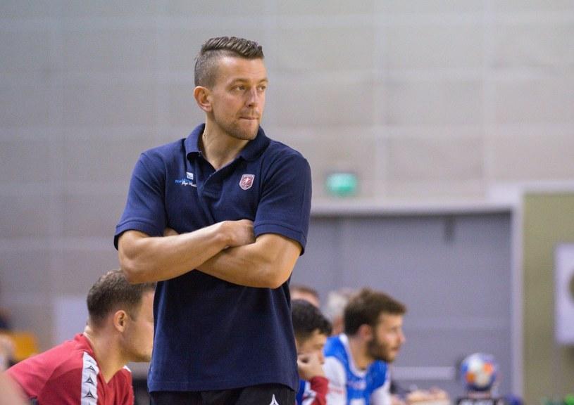 Patryk Rombel - trener reprezentacji szczypiornistów /Łukasz Dziekan /East News