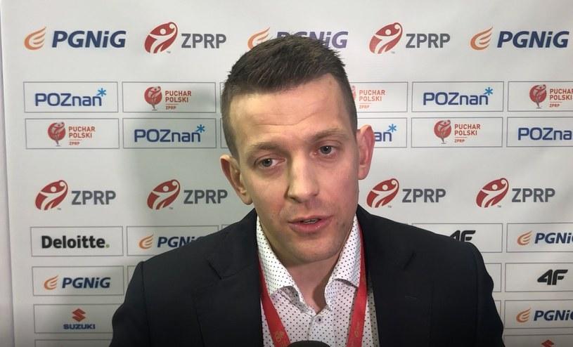 Patryk Rombel, trener reprezentacji w piłce ręcznej /Leszek Salva /INTERIA.PL