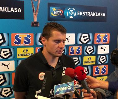 Patryk Tuszyński po meczu z Koroną Kielce (2-0). Wideo