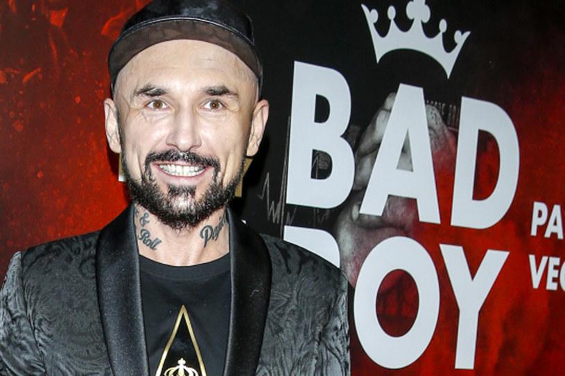"Patryk Vega na premierze filmie ""Bad Boy"" /AKPA"