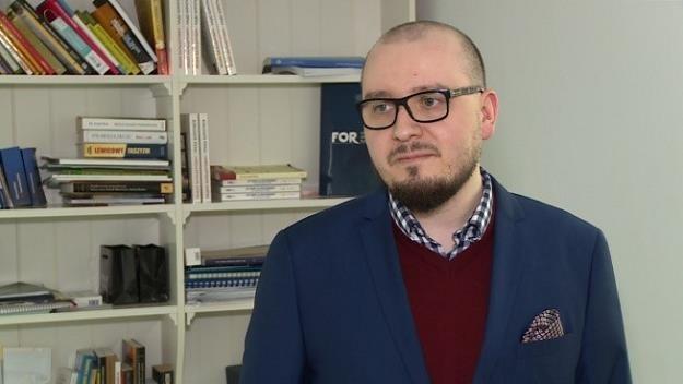 Patryk Wachowiec, analityk prawny Fundacji FOR /Newseria Biznes