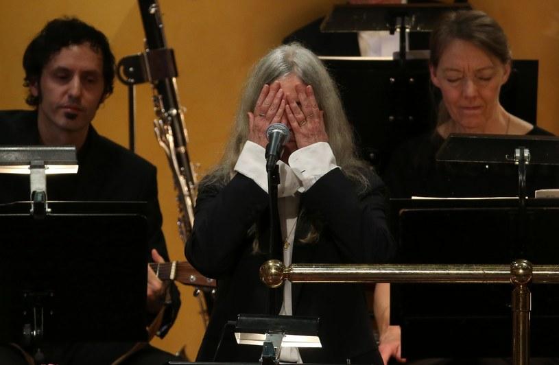 Patti Smith podczas występu /SOREN ANDERSSON  /East News
