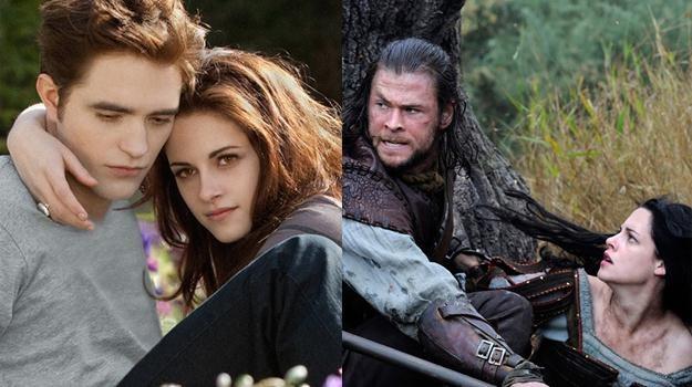 Pattinson i Stewart kontra Hemsworth i Stewart - cała trójka była gwiazdami 2012 roku /materiały prasowe