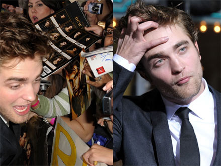 Pattinson w szponach Zmierzchomanii - fot. Kevin Winter /Getty Images/Flash Press Media