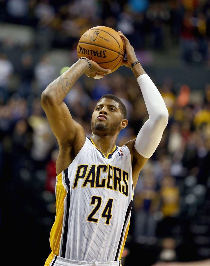 Paul George, koszykarz Indiana Pacers /AFP