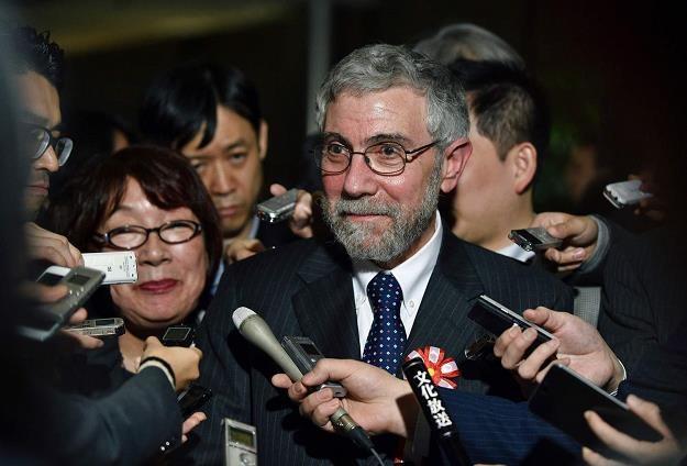 Paul Krugman, laureat Nagrody Nobla w 2008 r. /AFP