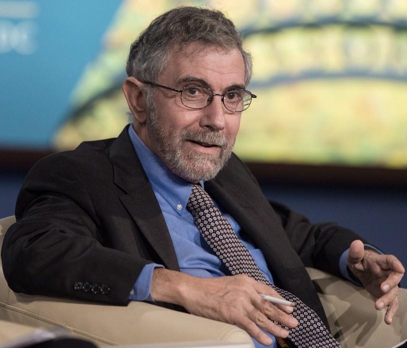 Paul Krugman, laureat nagrody Nobla z ekonomii /AFP