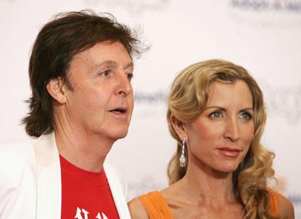 Paul McCartney i Heather Mills - fot. Frazer Harrison /Getty Images/Flash Press Media