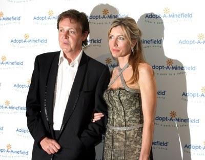 Paul McCartney i Heather Mills /arch. AFP