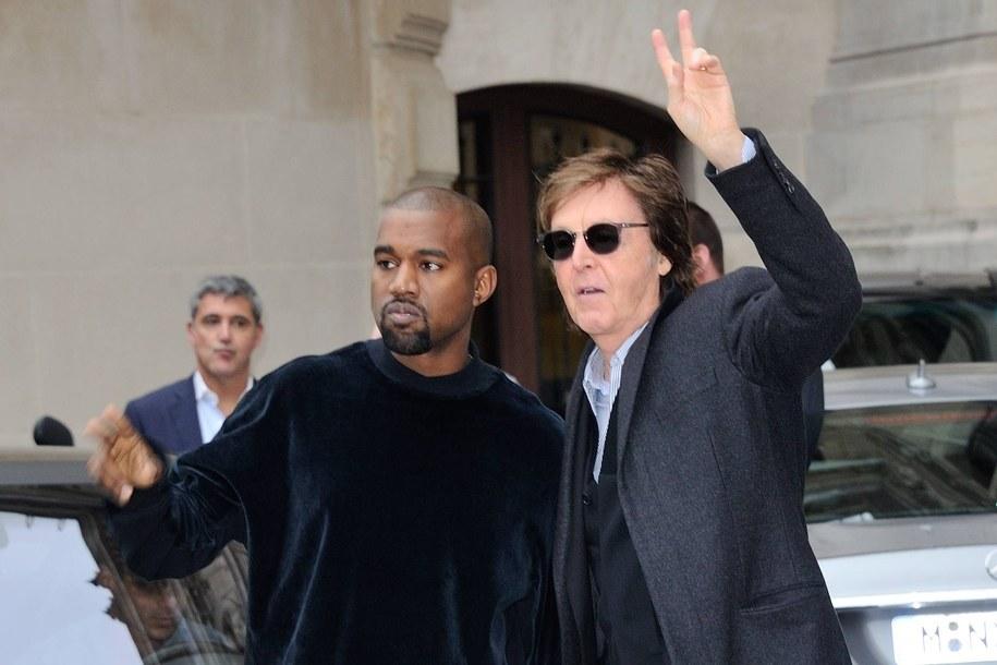 Paul McCartney i Kanye West /Domine-Marechal-Wyters    /PAP/EPA