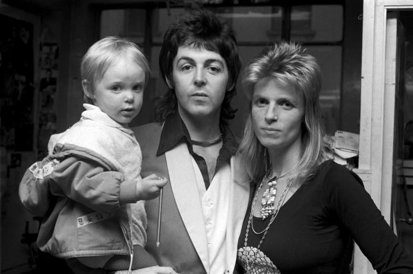 Paul McCartney i Linda McCartney /Michael Putland /Getty Images