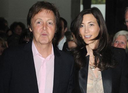 Paul McCartney i Nancy Shevell - fot. Pascal Le Segretain /Getty Images/Flash Press Media