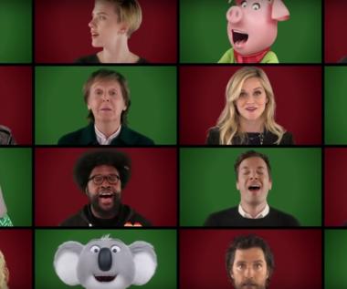 """Paul McCartney, Jimmy Fallon i gwiazdy filmu """"Sing"""" (""""Wonderful Christmastime"""")"""