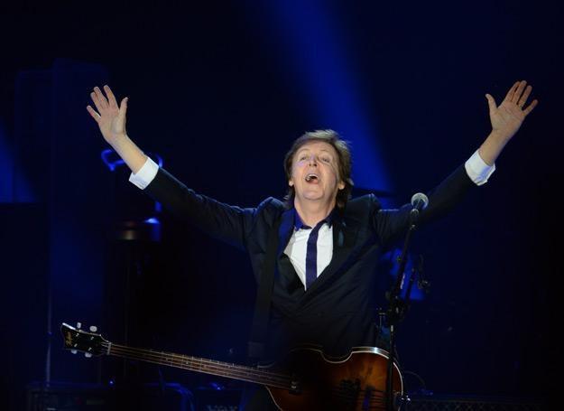 Paul McCartney na Stadionie Narodowym w Warszawie - fot. Jacek Turczyk /PAP