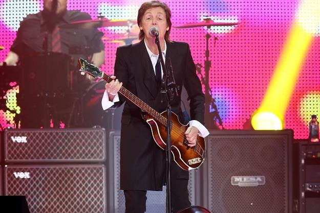 Paul McCartney pozdrawia Johna Kobielę! fot. Neilson Barnard /Getty Images/Flash Press Media