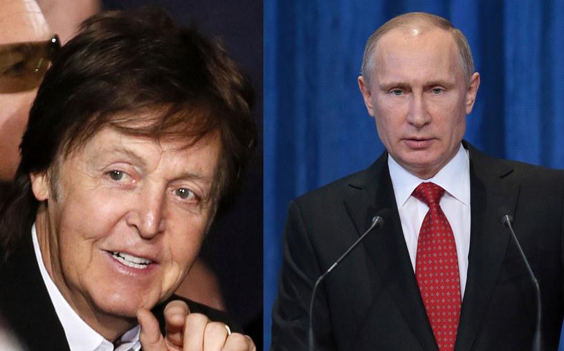 Paul McCartney prosił Putina o uwolnienie działaczy Greenpeace'u. /AFP