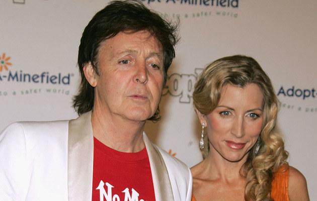 Paul McCartney z Heather Mills w czasach, gdy jeszcze pokazywali się razem, fot. Frazer Harrison  /Getty Images/Flash Press Media