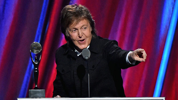 Paul McCartney /Mike Coppola /Getty Images