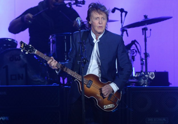 Paul McCartney /JIM RUYMEN /PAP/Newscom