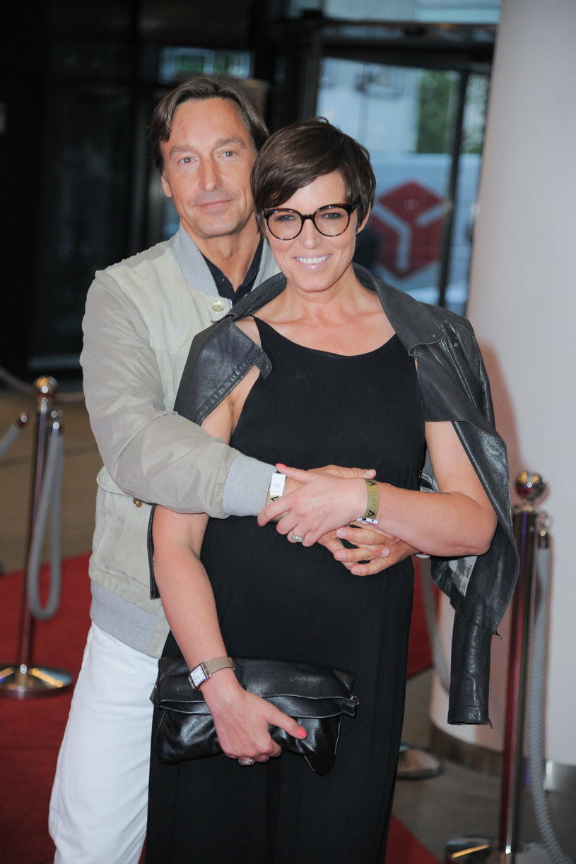 Paul Montana i Ilona Felicjńska /Artur Zawadzki/REPORTER /East News