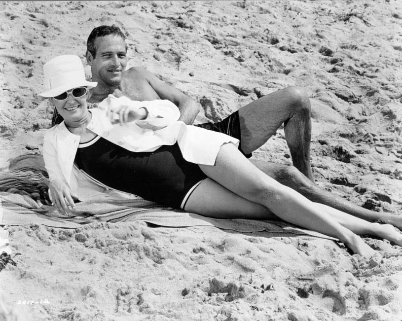 Paul Newman i Joanne Woodward - łączyło ich coś więcej niż namiętność, uroda i sława /Michael Ochs Archives /Getty Images