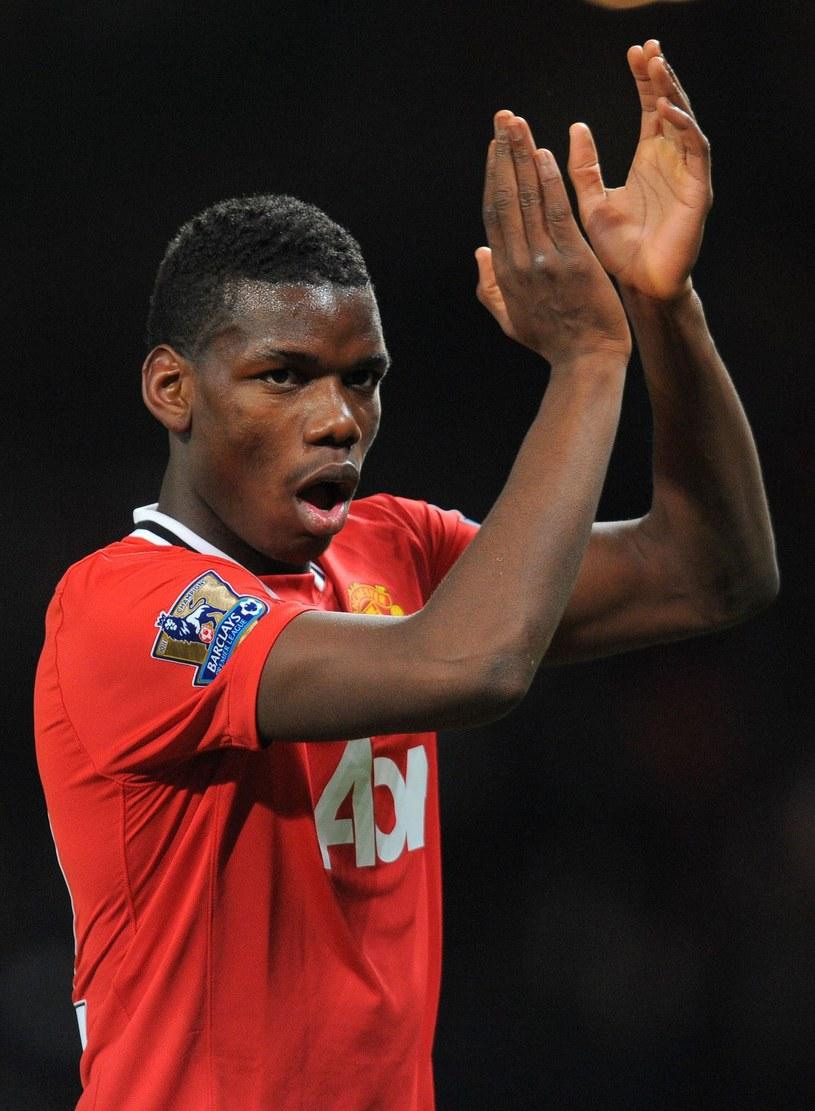 Paul Pogba jeszcze w barwach Manchesteru United /AFP