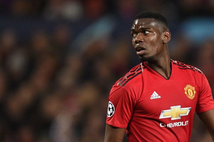 Paul Pogba z Manchesteru United /AFP