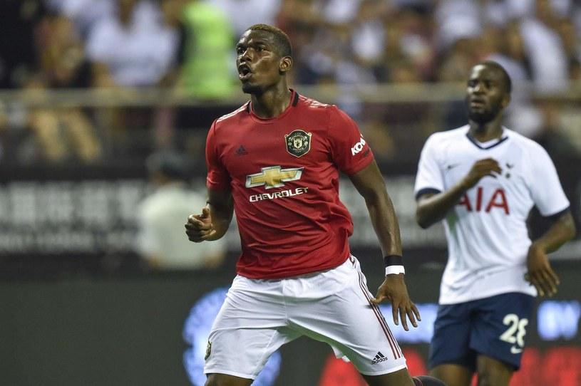 Paul Pogba został ostatecznie w Manchesterze United /AFP