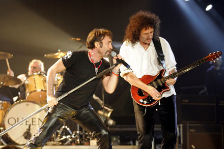 Paul Rodgers i Brian May /arch. AFP
