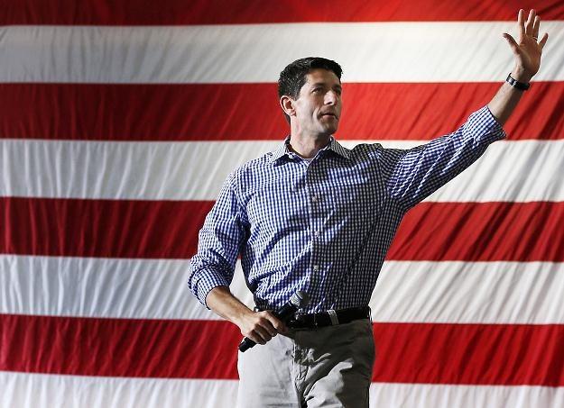Paul Ryan w trakcie kampanii wyborczej w Glen Allen (Virginia), 17 sierpnia 2012 /AFP