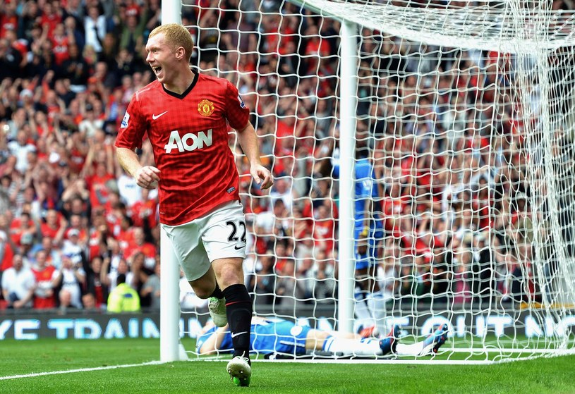 Paul Scholes - ikona Manchesteru United /AFP