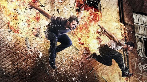 "Paul Walker na plakacie ""Brick Mansions"" /materiały dystrybutora"