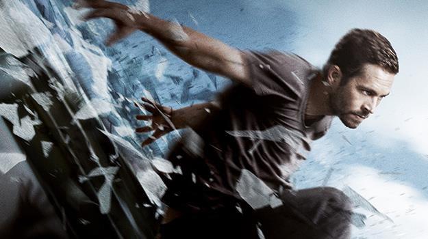 "Paul Walker na plakacie filmu ""Brick Mansions. Najlepszy z najlepszych"" /materiały dystrybutora"