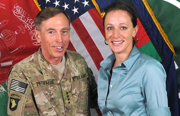 Paula Broadwell i David Petraeus /AFP