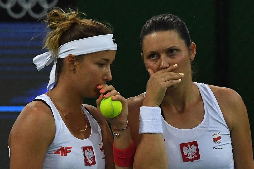 Paula Kania (z lewej) /AFP