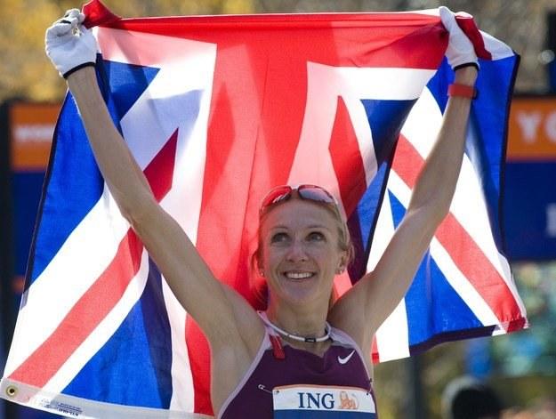 Paula Radcliffe. /AFP