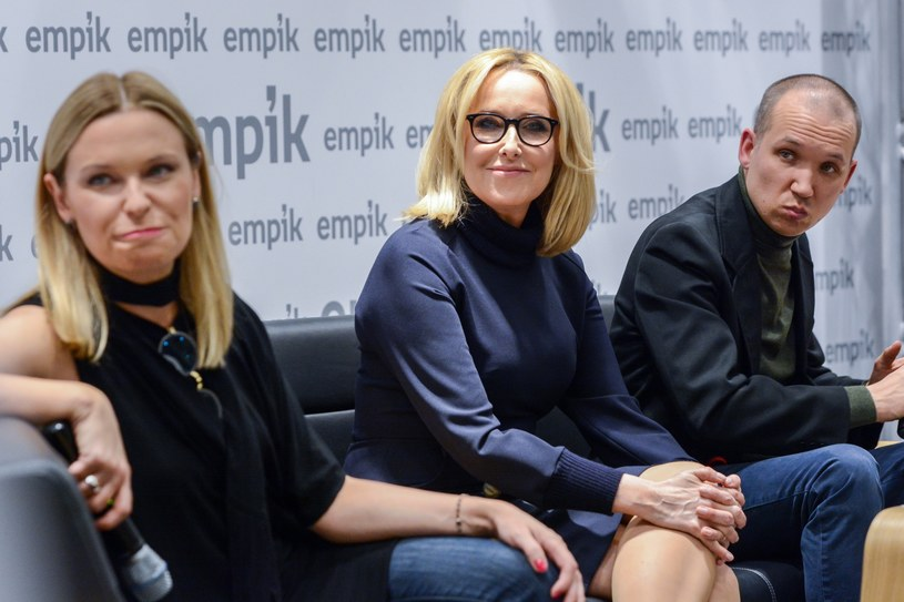 Paulina, Agata i Jan Młynarscy /Mariusz Gaczyński /East News