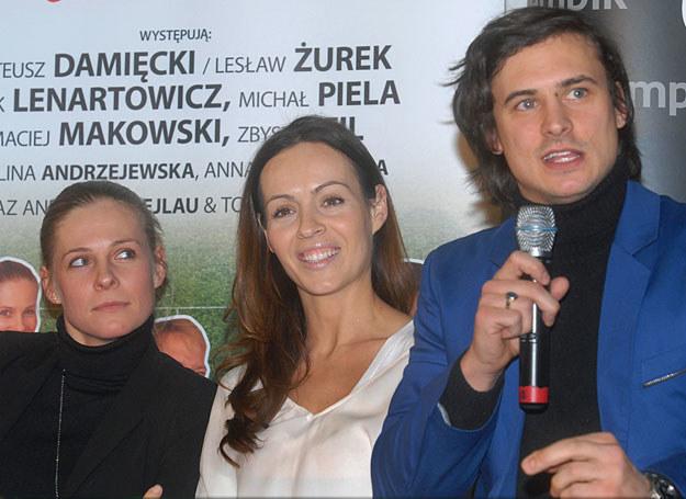 Paulina Andrzejewska, Anna Janikowska, Mateusz Damięcki /Marek Ulatowski /MWMedia