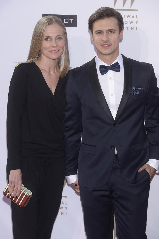 Paulina Andrzejewska i Mateusz Damięcki /Jacek Kurnikowski /AKPA