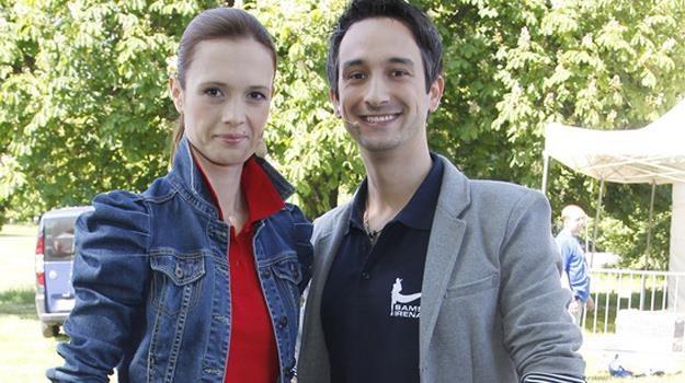 Paulina Chylewska i Radosław Brzózka będą wspierać zdających / fot. Podsiebierska /AKPA