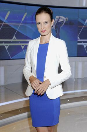 Paulina Chylewska szczególnie mocno trzyma kciuki za tenisistów /  /AKPA