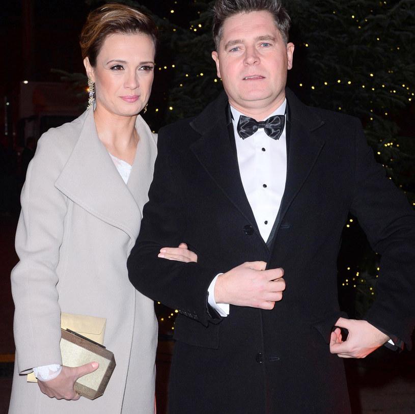Paulina Chylewska z mężem /Tricolors /East News