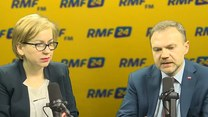 Paulina Hennig-Kloska i Artur Warzocha w Popołudniowej rozmowie w RMF FM