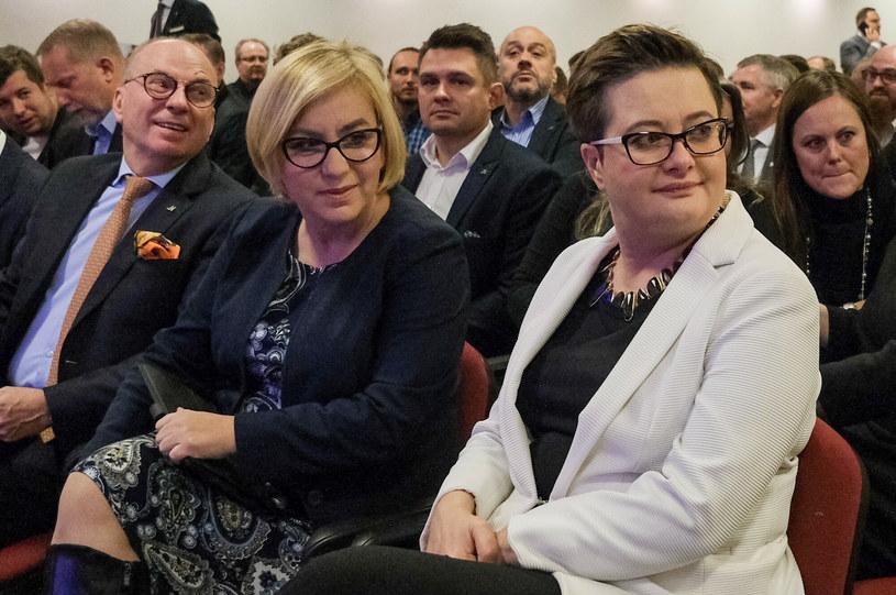 Paulina Henning-Kloska (dziś Polska 2050) i Katarzyna Lubnauer /Grzegorz Banaszak /Reporter