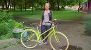 Paulina Krasucka: Na bagażnik można założyć kosz, który znacznie ułatwi przewożenie rzeczy rowerem